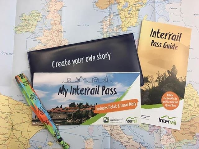 Interrail pass package
