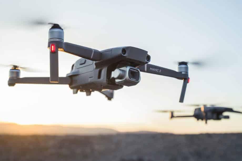 The new drone DJI mavic pro 2 / pro 2 zoom