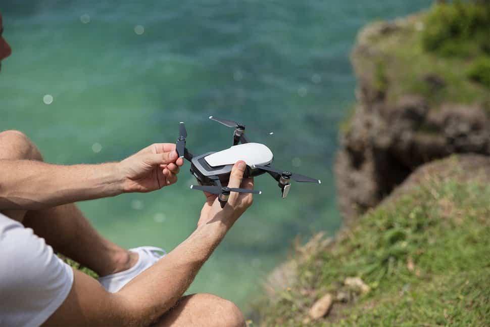 Foldable 4k drone called the DJI mavic air