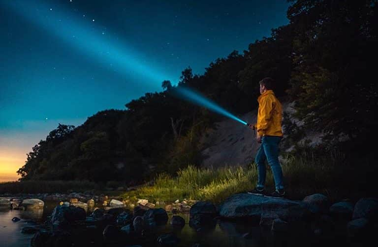 The best rechargeable camping flashlight