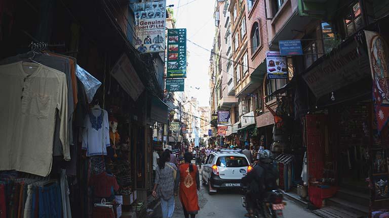 First time visiting Kathmandu in Nepal