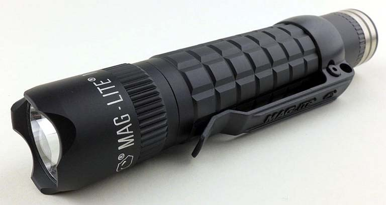 Maglite mag-tac flashlight for hiking and survival