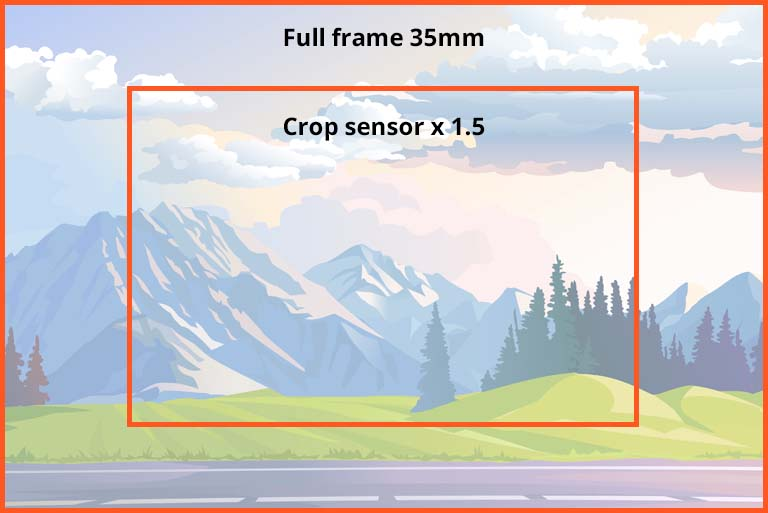 Full frame or Crop sensor comparrison
