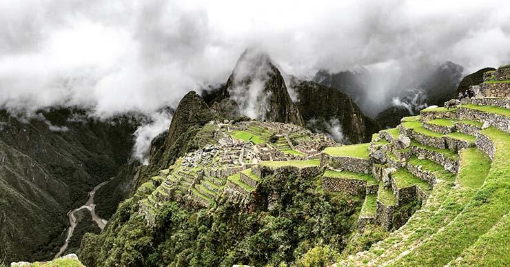 Learning Spanish near Machu Picchu
