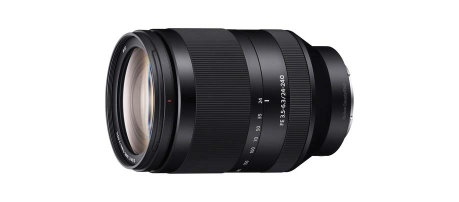 The Sony FE 24-240mm travel lens
